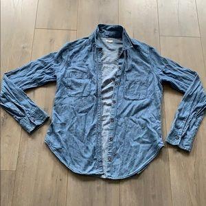 Hollister Soft Jean Shirt Small